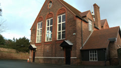 St Peter's Church Hall, Woolton, Liverpool Stock Footage
