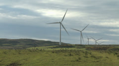 Wind turbines 1 - Scotland Stock Footage