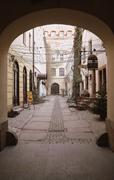 Stock Photo of Gate in Polish old-town
