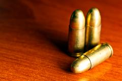 Set of bullets Stock Photos