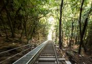 Stock Photo of scenic railway to valley katoomba australia