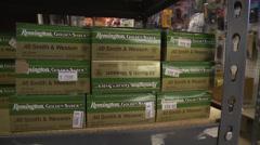 Ammunition stock Stock Footage