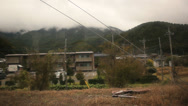 Stock Video Footage of Japan-countryside by train