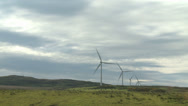 Stock Video Footage of Wind turbines 2 - Scotland