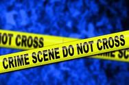 Stock Illustration of crime scene tape.