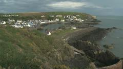 Portpatrick, Dumfries and Galloway, Scotland Stock Footage