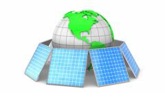 Solar Energy Stock Footage
