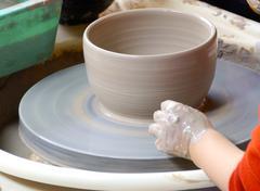 Stock Photo of Molding clay