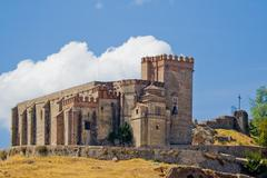 Castillo - fortaleza  de aracena / castle - fortress of aracena Stock Photos