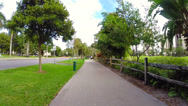 Stock Video Footage of Aventura nature trail