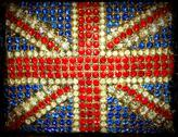 Stock Photo of Union Jack Bling