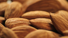 Stock Video Footage of Almonds