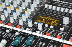 Apparatus, strengthener of sound Stock Photos