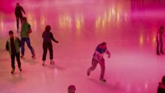 Ice Rink 9 Stock Footage