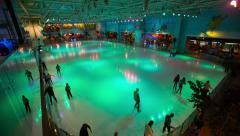Ice Rink 8 Stock Footage