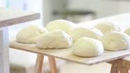 Stock Video Footage of Making rustic bread