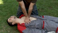 CPR Stock Footage