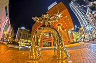 Stock Photo of 1st january, 2014, charlotte, nc, usa - nightlife around charlotte