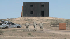 US - 41. Infantry Brigade Training 04 - Soldiers Exercise 04 Stock Footage