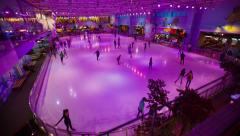 Ice Rink 1 Stock Footage