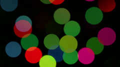 Background with colored lights flashing Stock Footage