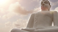 Slow Motion Buddha Stock Footage