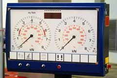 Test gauges Stock Photos