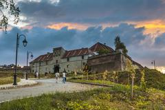 brasov citadel, romania - stock photo