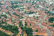 Stock Photo of cityscape of brasov, romania