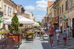 City life, brasov, romania Stock Photos