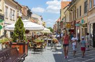 Stock Photo of city life, brasov, romania