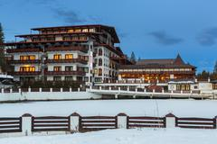 Stock Photo of aurelius hotel, poiana brasov, romania