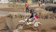 Stock Video Footage of Endurocross Dirt Bikes HD6236