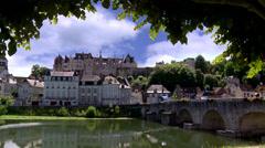 Saint Aignan (2) - France Stock Footage