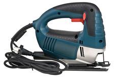 electric fret saw - stock photo
