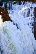 Snoqualme falls waterfall washington state pacific northwest Stock Photos