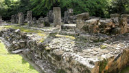 Stock Video Footage of Maya ruins on Cozumel island, Mexico (2)