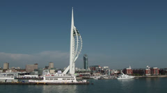 Millennium Tower Portsmouth - stock footage