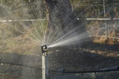 Spray Watering System Stock Photos