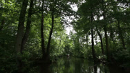 Stock Video Footage of Boat trip, Spreewald 09