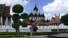 Palace in Bankok Thailand Stock Footage