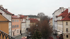Praha or Prague Stock Footage