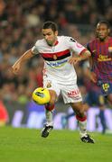 Joao Victor de Albuquerque of RCD Mallorca - stock photo