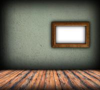 Minimalist indoor backdrop Stock Illustration