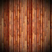 Vertical mounted weathered wooden floor Stock Illustration