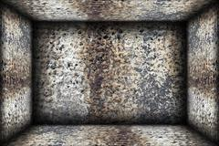 weathered indoor abstract  architectural backdrop - stock illustration