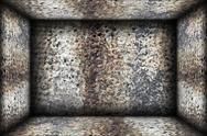 Stock Illustration of weathered indoor abstract  architectural backdrop