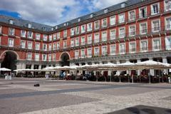 Plaza Mayor - stock photo