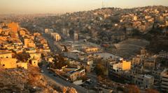 Stock Video Footage of Amman - capital of Jordan