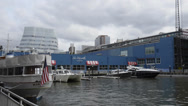 Stock Video Footage of A look over Chelsea Piers (1 of 2)